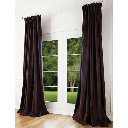 Комплект штор Наоми, коричневый, 200*270 см (bl-100121), фото 1