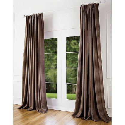 Комплект штор Наоми, светло-коричневый, 200*270 см (bl-100123), фото 1