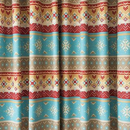 Комплект штор Уолис, синий, 170*250 см (bl-100150), фото 3