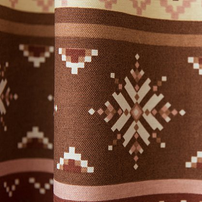 Комплект штор Уолис, коричневый (bl-200037-gr), фото 3