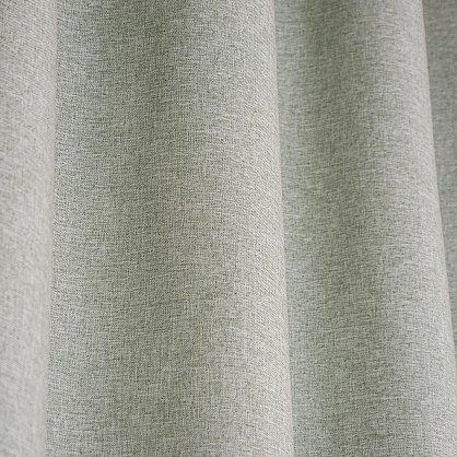 Комплект штор блэкаут-лен В505-8, оливковый (bt-200347-gr), фото 3