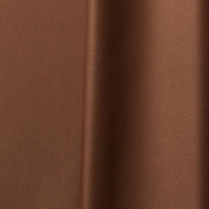Комплект портьер блэкаут однотонный B501-2, коричневый, 200*260 см (bt-100023), фото 2