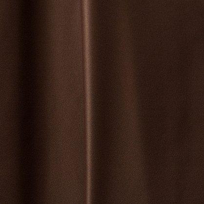 Комплект портьер блэкаут однотонный B501-1, шоколадный, 250*240 см (bt-100009), фото 2