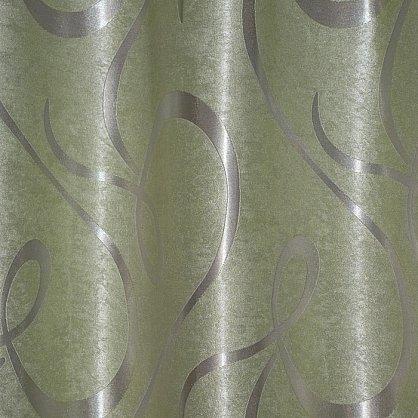 Комплект портьер блэкаут-софт B530-6, оливковый (bt-200238-gr), фото 2