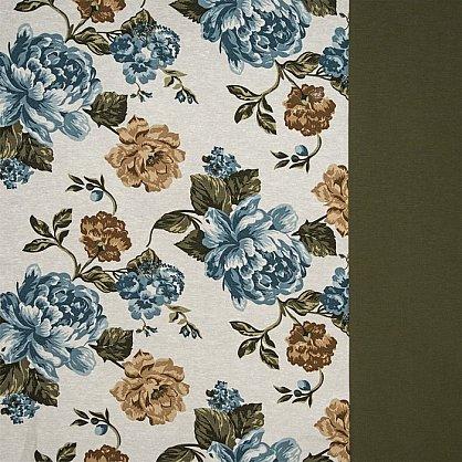 Комплект штор C450-3, синие цветы (bt-200030-gr), фото 3