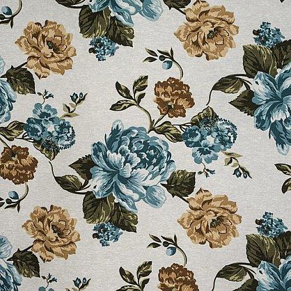 Комплект штор C450-3, синие цветы (bt-200030-gr), фото 4