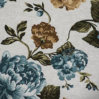 Комплект штор C450-3, синие цветы (bt-200030-gr), фото 5