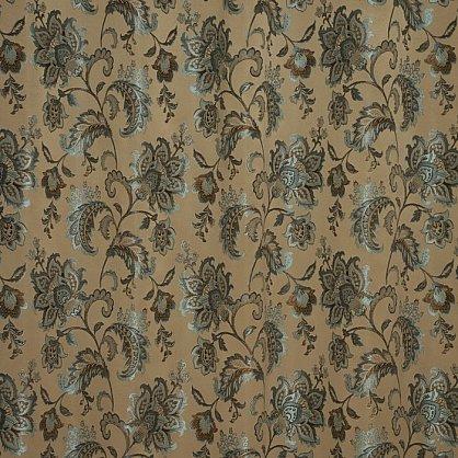 Комплект штор К322-6, коричневый, бирюзовый (bt-200097-gr), фото 3