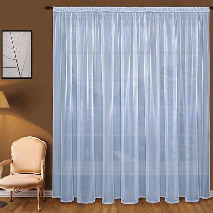 Тюль вуаль T101-8, голубой (bt-200131-gr), фото 1