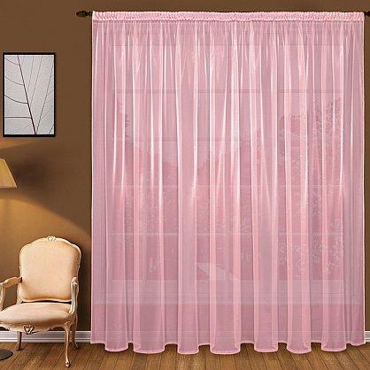 Тюль вуаль T101-9, розовый (bt-200132-gr), фото 1