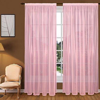 Тюль вуаль T102-9, розовый (bt-200141-gr), фото 1