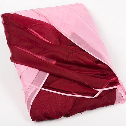 Ламбрекен-1, бордо - розовый (L1-7), фото 2