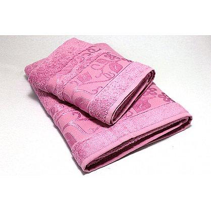 """Набор полотенец """"Класс"""" в новогодней упаковке,черника, малый (F-class-chern-m), фото 3"""