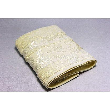 """Набор полотенец """"Класс"""" в новогодней упаковке,кремовый, малый (F-class-krem-m), фото 2"""
