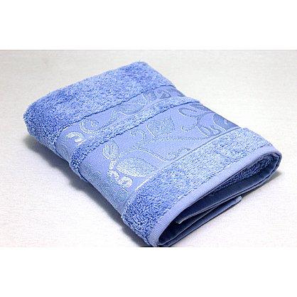 """Набор полотенец """"Класс"""" в новогодней упаковке, голубой, малый (F-class-g-m), фото 3"""