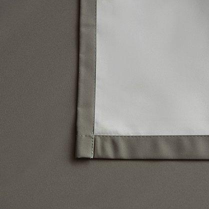 """Портьеры негорючие """"Эллипс"""", серый, 145*270 см (bl-100903), фото 4"""
