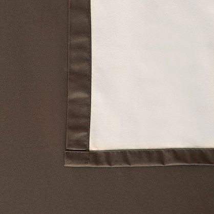 """Портьеры негорючие """"Эллипс"""", коричневый , 145*270 см (bl-100910), фото 4"""