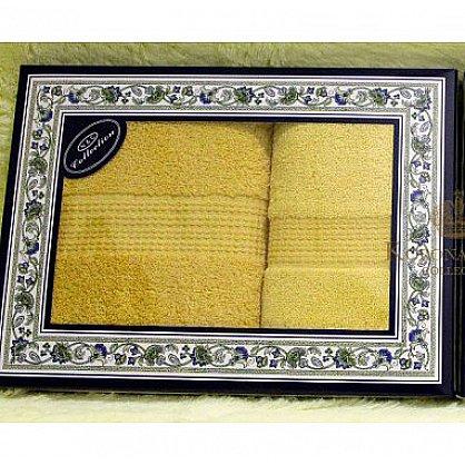 Набор Однотонный желтый, 33*74+50*90 см (KS8251-zl), фото 1