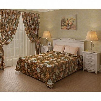 Покрывало Камелия, коричневый, 180*200 см (add-100009), фото 1