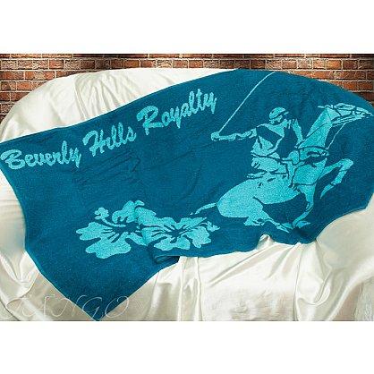 Пляжное полотенце Беверз Хилз, 75*150 см, голубой (tg-BHPC-611-8324-03), фото 1