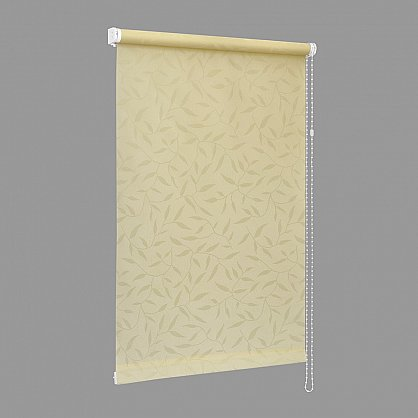 "Рулонная штора ""Сантайм-жаккард Оливия Крем"", ширина 34 см (8262-38(34)), фото 2"