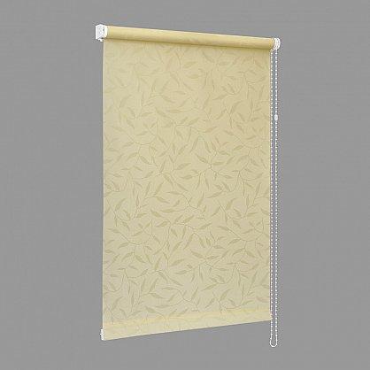 "Рулонная штора ""Сантайм-жаккард Оливия Крем"", ширина 73 см (8262-77(73)), фото 2"