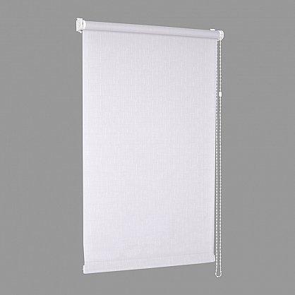 "Рулонная штора ""Сантайм Уни Лен Белый"" (2800-gr), фото 4"