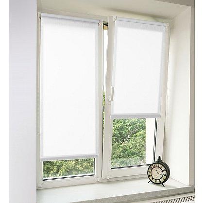 "Рулонная штора ""Сантайм Уни Лен Белый"" (2800-gr), фото 1"