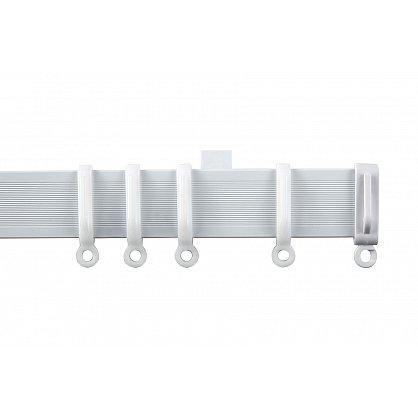 Гибкий карниз в рулоне, 1-рядный, белый, 500 см (df-102684), фото 1