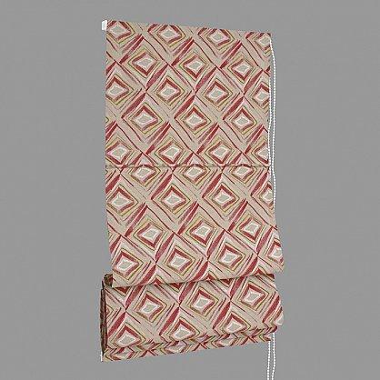 """Римская штора """"Akane Rombo Culla"""", малиновый (rojo) 36 (df-200163-gr), фото 7"""