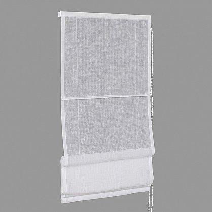 """Римская штора макси """"FN 02800 Visilio"""", белый (blanco) 10, ширина 120 см (df-101528), фото 2"""
