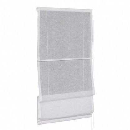 """Римская штора макси """"FN 02800 Visilio"""", белый (blanco) 10, ширина 120 см (df-101528), фото 1"""