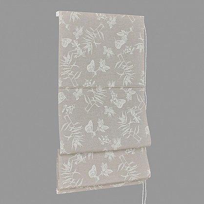 "Римская штора мини ""Nahia Coord Loneta"", серый (gris) 70, ширина 73 см (df-101456), фото 2"