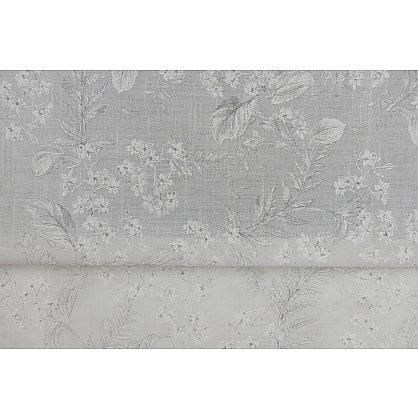 """Римская штора мини """"Sia Visilio oasis con plomo"""", белый blanco (цветы) 10, ширина 68 см (df-101505), фото 6"""