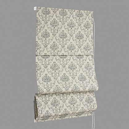 """Римская штора макси """"Tanit Loneta"""", серый (plomo) 70, ширина 160 см (df-101410), фото 4"""