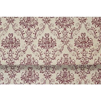 """Римская штора мини """"Tanit Loneta"""", бордовый (rojo) 12, ширина 68 см (df-101425), фото 5"""