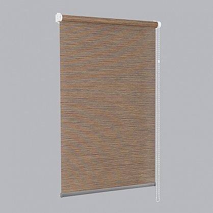 """Рулонная штора премиум """"Colima"""", коричневый (df-200320-gr), фото 8"""