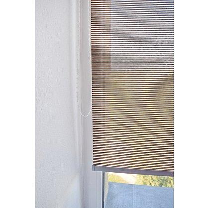 """Рулонная штора премиум """"Colima"""", коричневый (df-200320-gr), фото 5"""