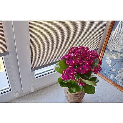 """Рулонная штора премиум """"Colima"""", коричневый (df-200320-gr), фото 7"""