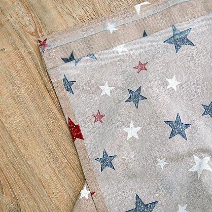 Комплект штор Sky Loneta, красные звезды (rojo), 200*270 см (df-102990), фото 9
