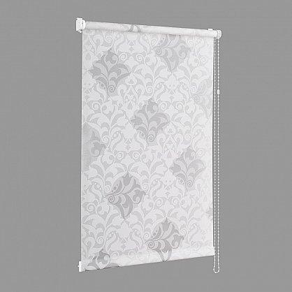 "Рулонная штора ""Сантайм-рисунок Футура белый/серебро"", ширина 73 см (2910-77(73)), фото 2"