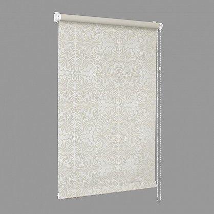"Рулонная штора ""Сантайм Металлик принт Крем"", ширина 115 см (7591-119(115)), фото 5"