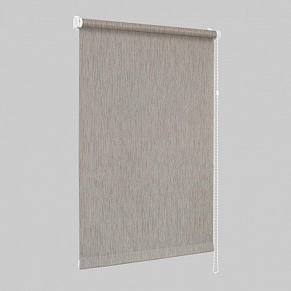 "Рулонная штора ""Сантайм Натур Коричневый"", ширина 57 см (2281-61(57)), фото 2"