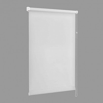 "Рулонная штора ""Сантайм уни Белый"", ширина 48 см (100-52(48)), фото 2"