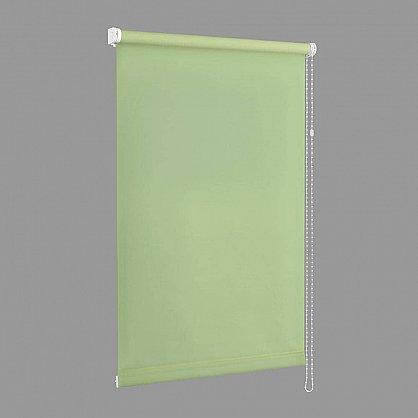 "Рулонная штора ""Сантайм Уни Фисташка"", ширина 95 см (118-99(95)), фото 4"