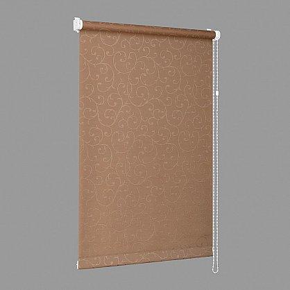 "Рулонная штора ""Сантайм-жаккард Прима Какао"", ширина 57 см (8827-61(57)), фото 6"