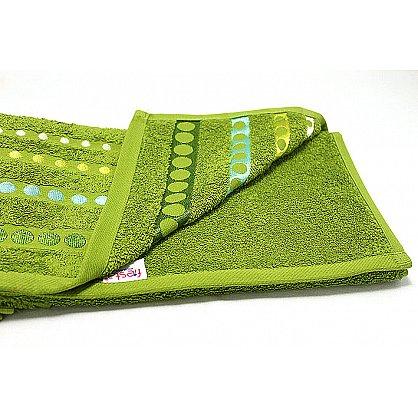 """Полотенце """"Диско"""" в новогодней упаковке, зеленый, 30*50 см (F-disco-z-30), фото 3"""