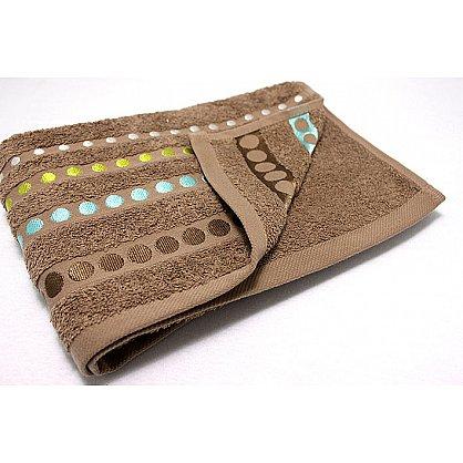 """Полотенце """"Диско"""" в новогодней упаковке, коричневый, 30*50 см (F-disco-k-30), фото 3"""