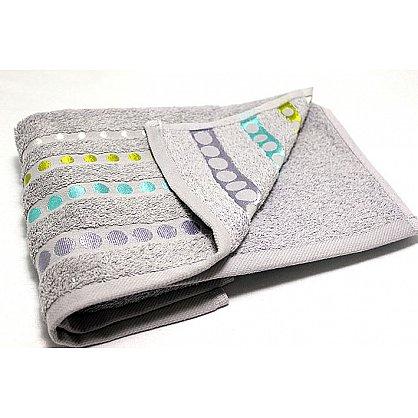 """Полотенце """"Диско"""" в новогодней упаковке, серый, 50*90 см (F-disco-s-50), фото 2"""