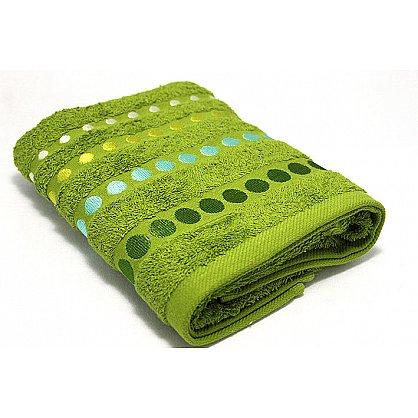 """Полотенце """"Диско"""" в новогодней упаковке, зеленый, 30*50 см (F-disco-z-30), фото 2"""